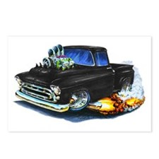 1957 Chevy Pickup Black Postcards (Package of 8)