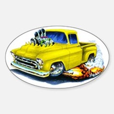 1957 Chevy Pickup Yellow Decal