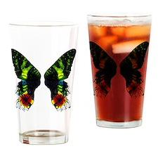 Madagascan Sunset Moth Drinking Glass