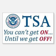 TSA-light Decal
