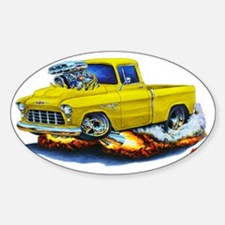 1955 Chevy Pickup Yellow Truck Decal