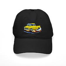 1955 Chevy Pickup Yellow Truck Baseball Hat
