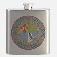 4 Provinces of Ireland Flask