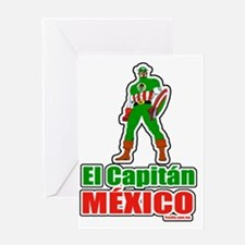 captainmexico2 Greeting Card