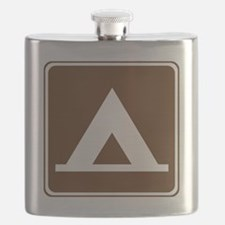 brown_camping_tent_sign_real Flask
