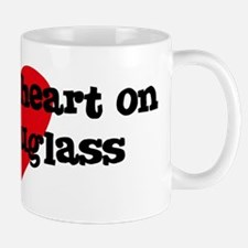 Heart on for Douglass Mug