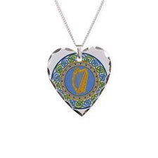 Ireland Necklace Heart Charm