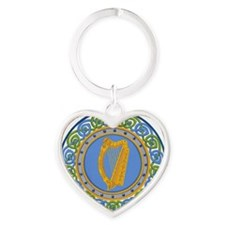 Ireland Heart Keychain