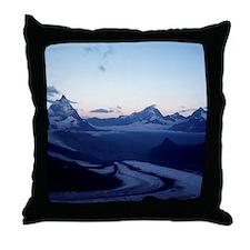 Swiss Alps Matterhorn Throw Pillow