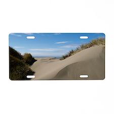 dunesmallfrprint Aluminum License Plate