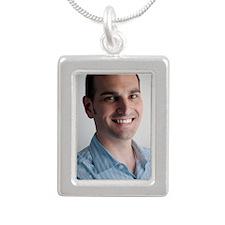 MugShot Silver Portrait Necklace