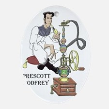 Prescott-Godfrey Oval Ornament