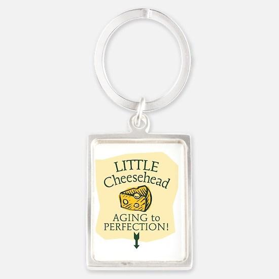 Little Cheesehead Portrait Keychain