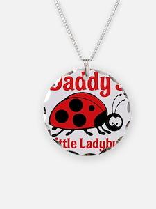 Ladybug Daddy Necklace