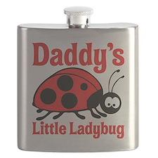 Ladybug Daddy Flask