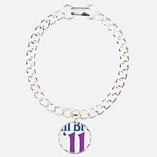 Lil Bro 11 Charm Bracelet, One Charm