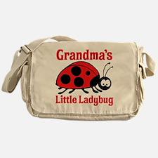 Ladybug Grandma Messenger Bag