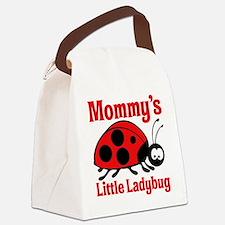 Ladybug Mommy Canvas Lunch Bag