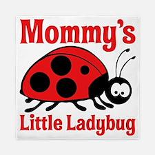 Ladybug Mommy Queen Duvet