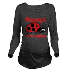 Ladybug Mommy Long Sleeve Maternity T-Shirt