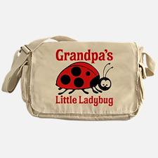 Ladybug Grandpa Messenger Bag