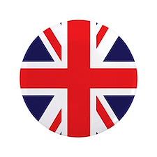 """Union Jack 3.5"""" Button"""