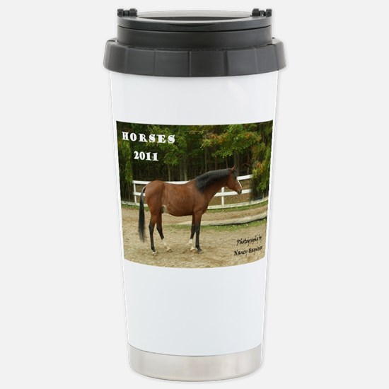F0386 Sir Knight Cover Stainless Steel Travel Mug