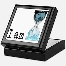 I am wikileaks3 Keepsake Box