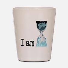 I am wikileaks3 Shot Glass