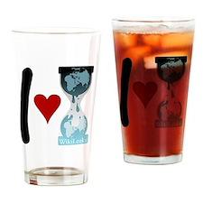 i heart wikileaks2 Drinking Glass