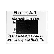 Rule Redskins Fan Picture Frame