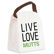 livemutts Canvas Lunch Bag