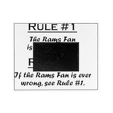 Rule Rams Fan Picture Frame