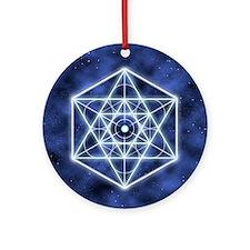 Sirius 9x7.5_mpad Round Ornament
