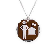 brown_ranger_station_sign_re Necklace