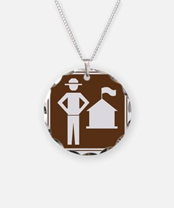 brown_ranger_station_sign_re Necklace