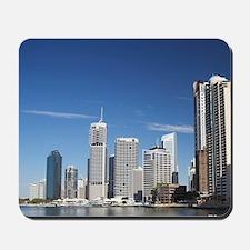 Riverside Promenade and Brisbane Riversi Mousepad