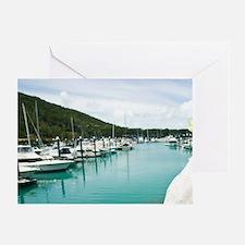 Hamilton Island. Sulphur Crested Coc Greeting Card