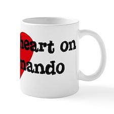 Heart on for Fernando Mug