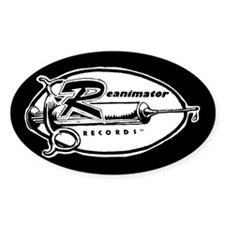 Reanimator Records Logo Oval Decal