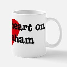 Heart on for Graham Mug