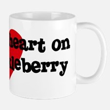 Heart on for Huckleberry Mug
