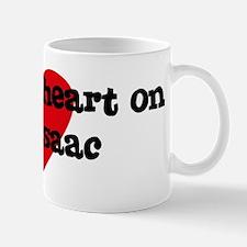 Heart on for Isaac Mug