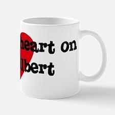 Heart on for Gilbert Mug