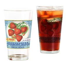 KENTUCKY STRAWBERRIES Drinking Glass