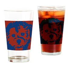 porkie_2tone_type1 Drinking Glass