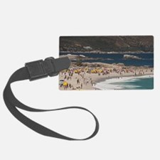 Camps Bay. Popular white sand be Luggage Tag