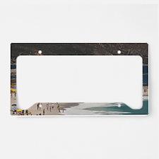 Camps Bay. Popular white sand License Plate Holder