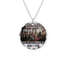 AMERICA WAS DESIGNED BY GENI Necklace