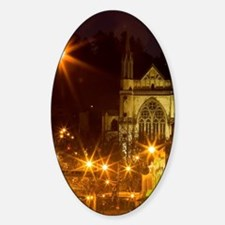 St Paul's Cathedral Sticker (Oval)